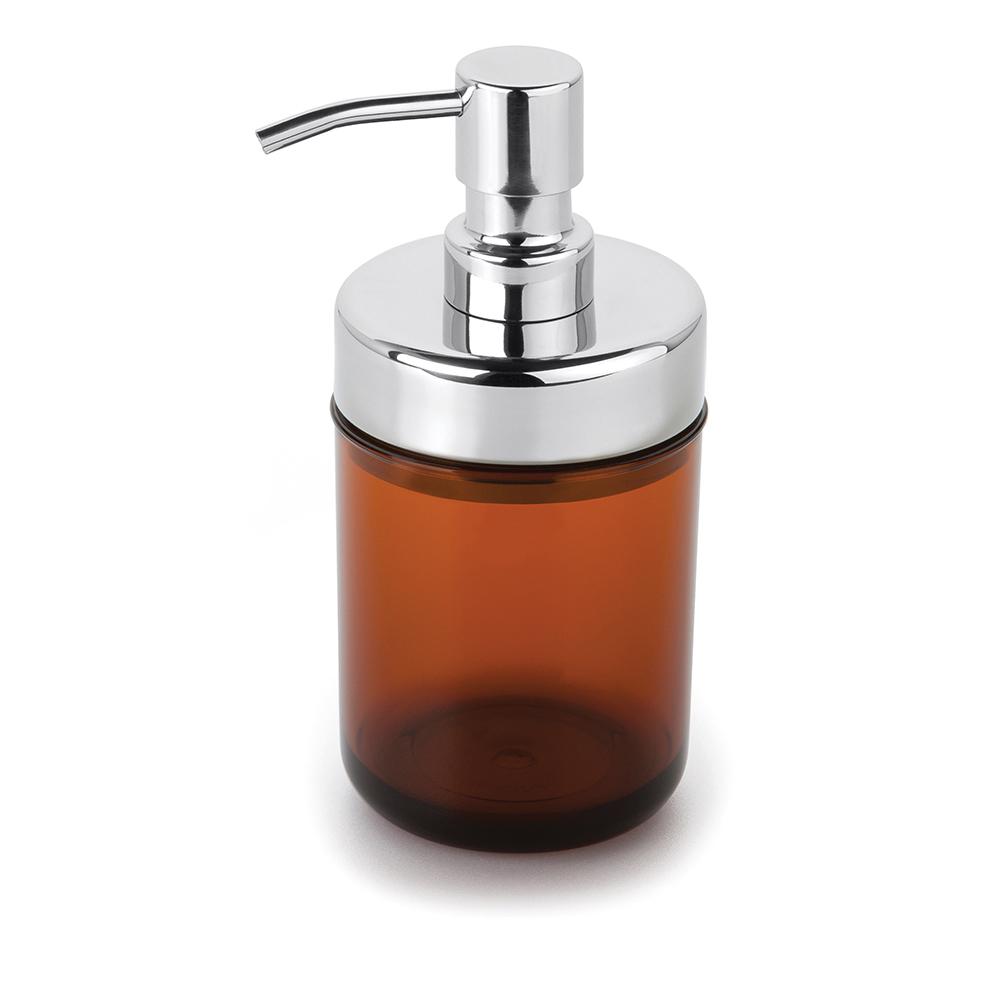 Kit 6 Dispenser Sabonete Líquido Acquaset Âmbar Forma