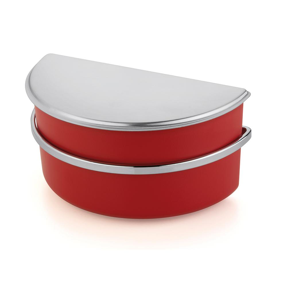 Saleiro Vivace Vermelho 1 Kg Forma