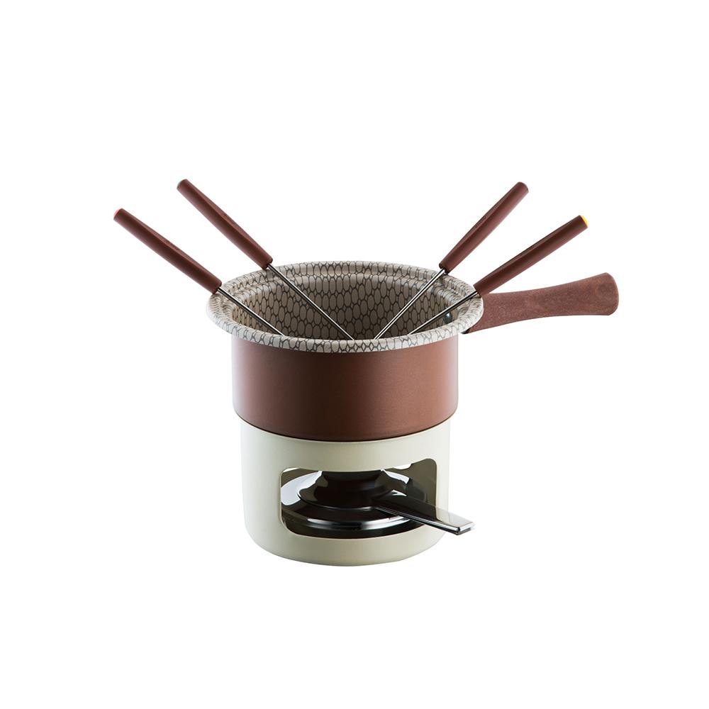 Aparelho de Fondue Chocolate Antiaderente Forma