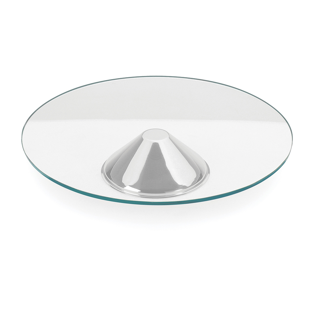 Prato para Servir de Vidro Andrea 40 cm Forma