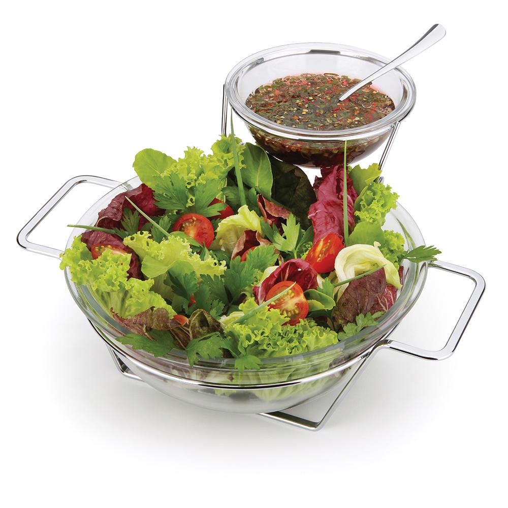 Conjunto Saladeira com Molheira 5 Peças Forma
