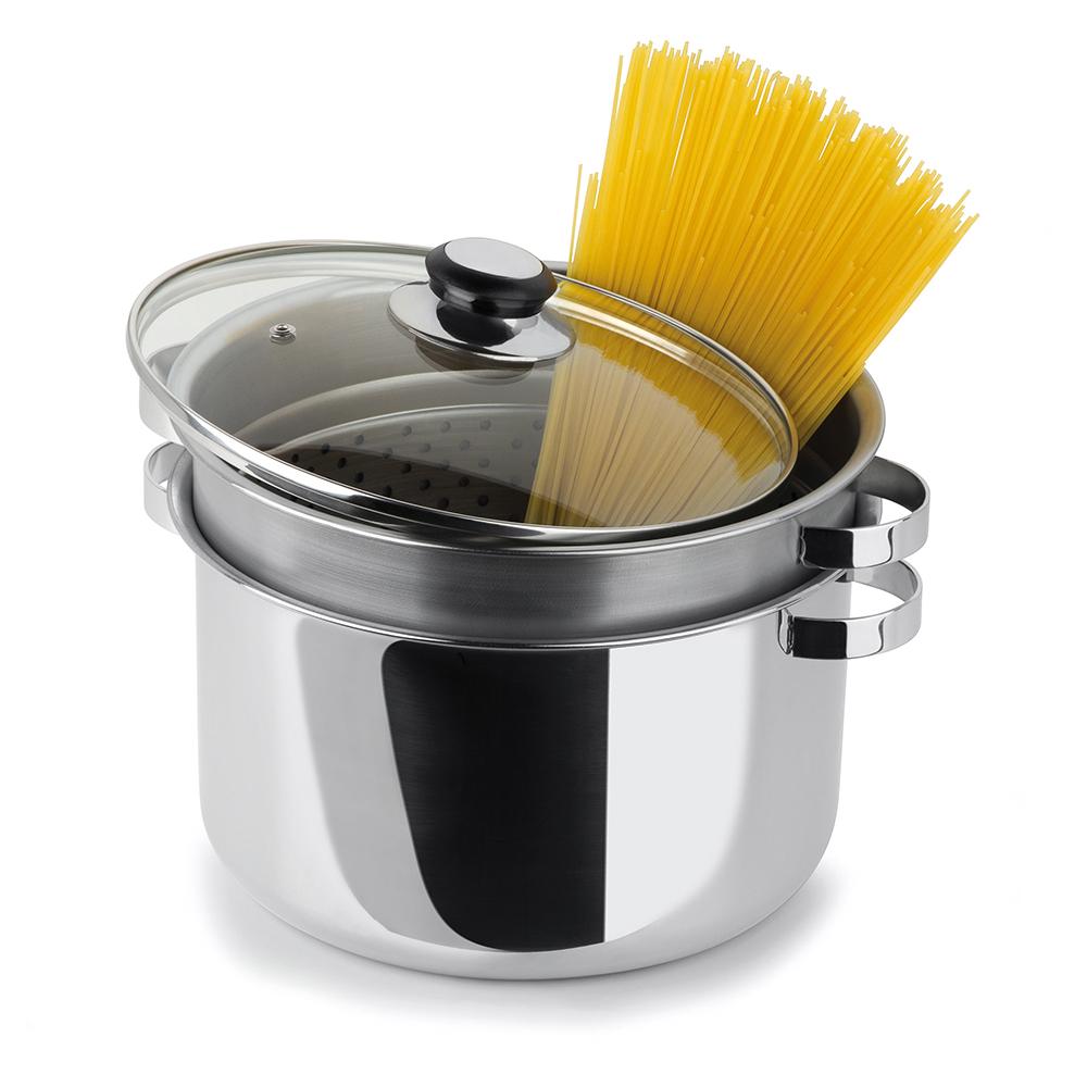 Espagueteira Inox com Escorredor 7,2 Litros Forma