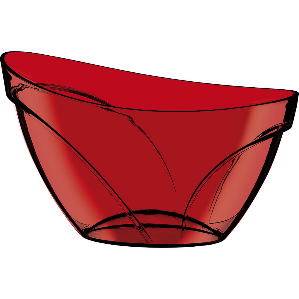 Champanheira Suprema Poliestireno Vermelha Translúcida 12 Lt