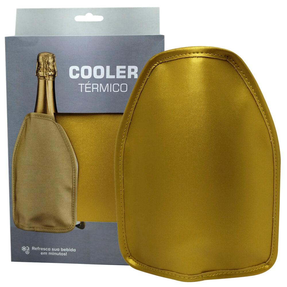 Cooler Térmico Dourado Boccati