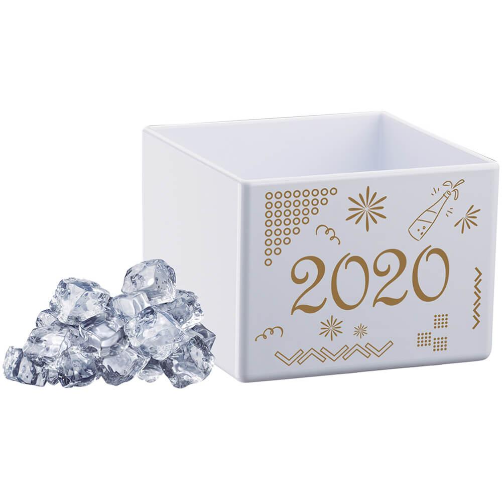 Cubo para Gelo Branco Poliestireno
