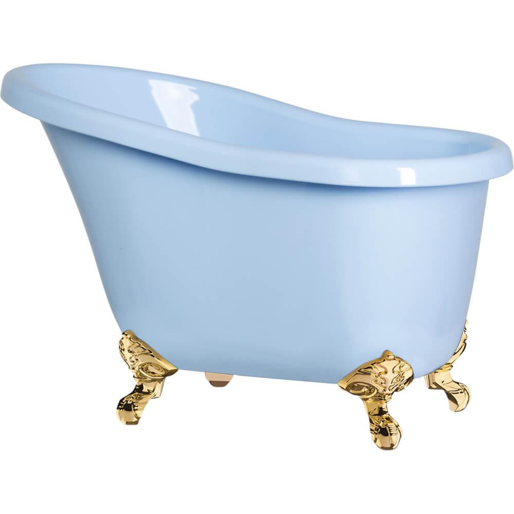 Champanheira Banheira Suprema Poliestireno Azul Bebê 7,8 Litros