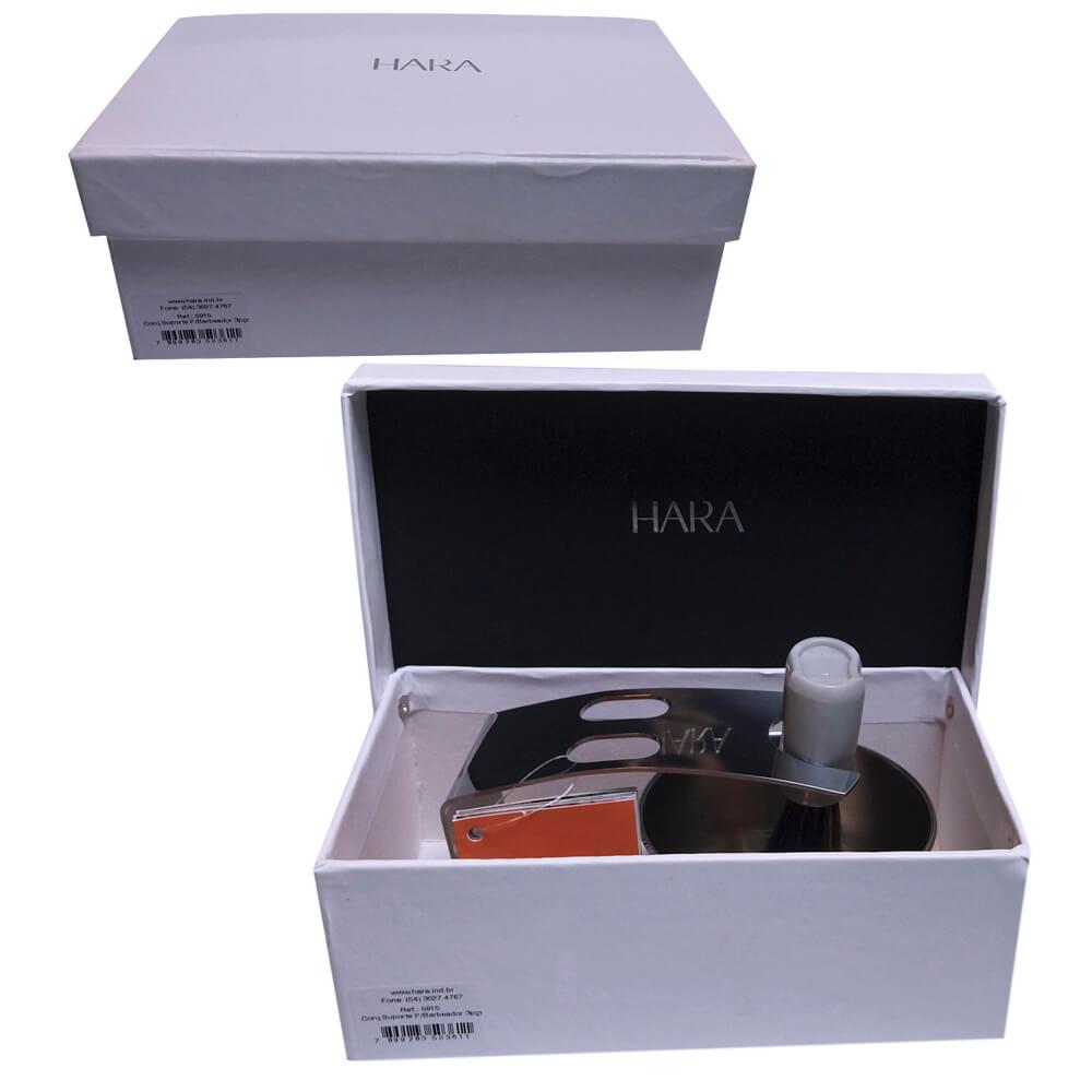 Conjunto Suporte para Barbeador SPA Inox 3 Peças