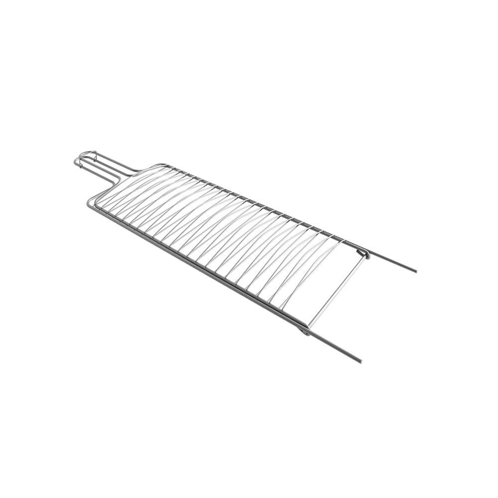 Grelha Dupla para Peixe Aramada 60x22 cm Qualinox