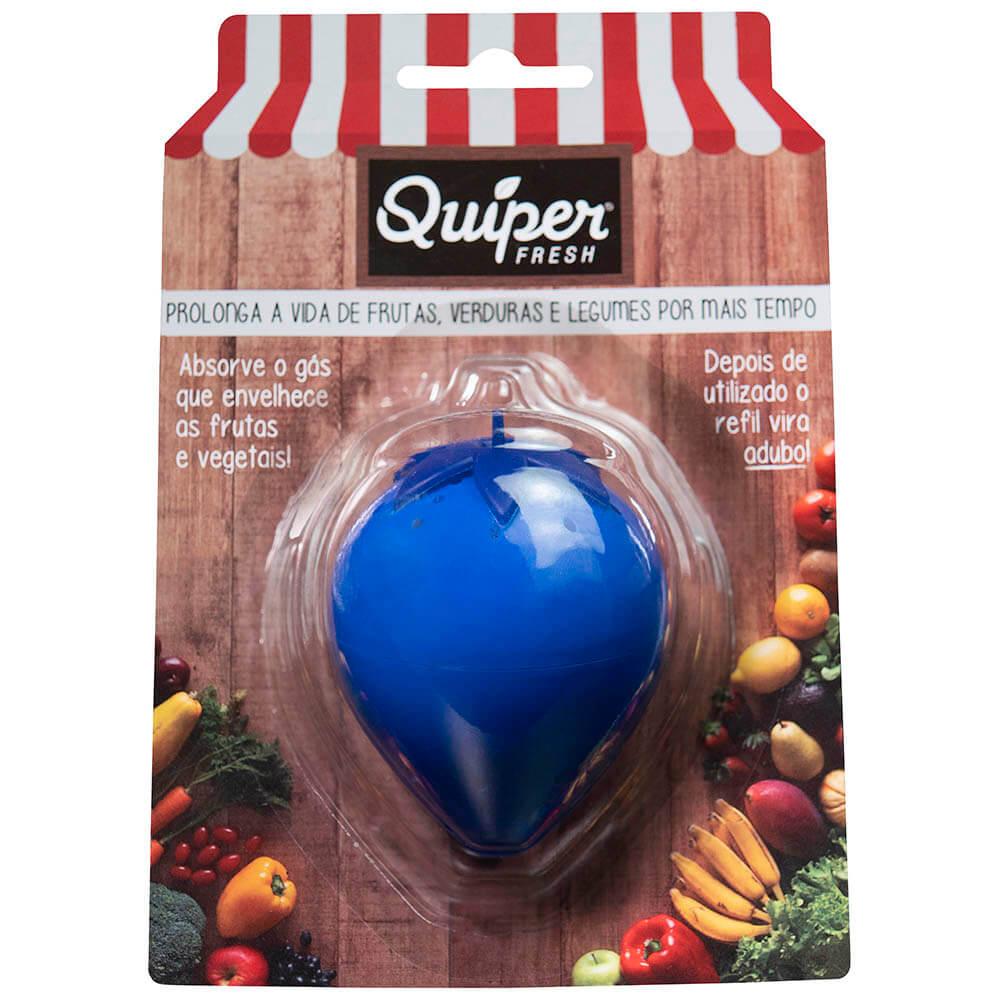 Kit com 1 Morango Azul Quíper Fresh + Refil com 03 sachês